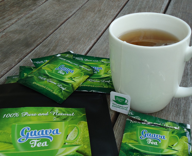 Guava Leaves herbal tea bag